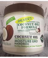 PALMER'S COCONUT OIL FORMULA WITH VITAMIN E SHINING HAIRDRESS MOISTURE G... - $4.94