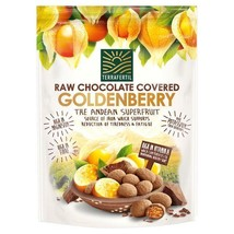 Terrafertil Raw Chocolate Covered Goldenberries 75g - $8.50
