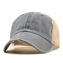 Fashion Unisex Grinding Travel Summer Baseball Cap Spring Breathable Mes... - £8.41 GBP