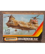 Vintage 1986 Matchbox Boeing Vertol Chinook HC MK.1 CH-47D Model Kit New... - $29.99