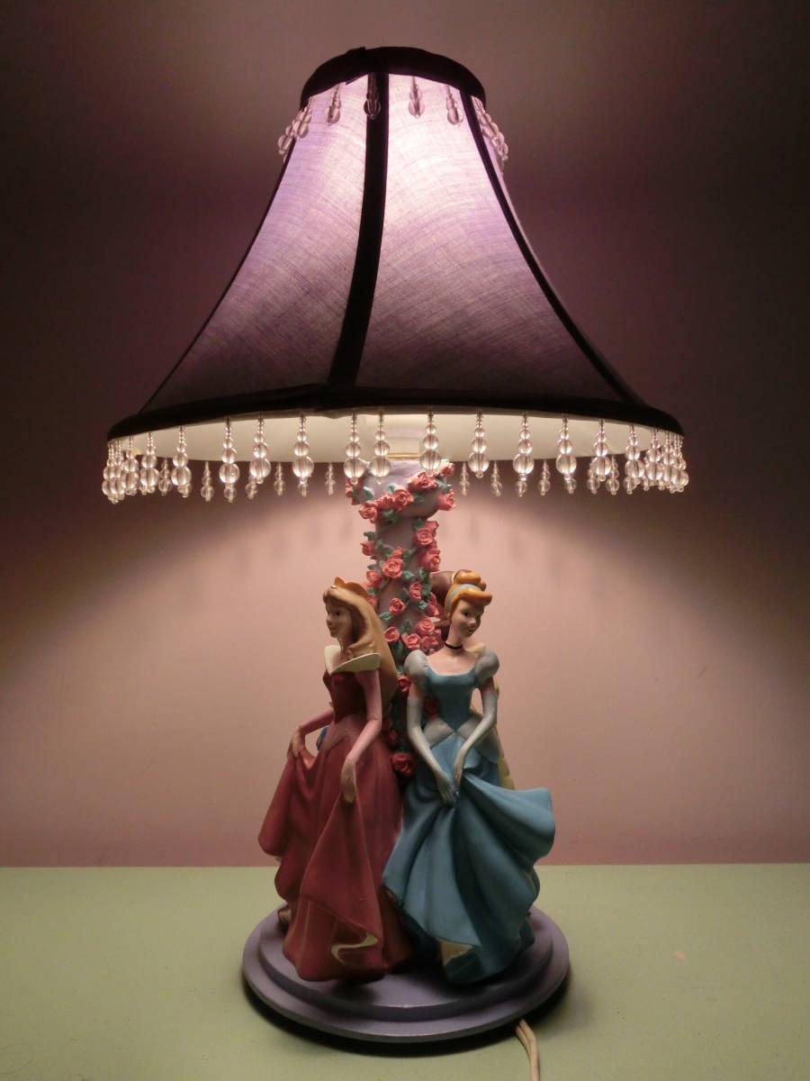 Disney Princess Room Light Night Lamp Snow White Cinderella Belle Princess Auror