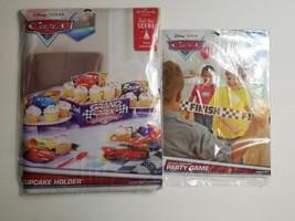 Disney Pixar Cars Hallmark Cupcake holder & Red Light Green Light Party ... - £12.51 GBP