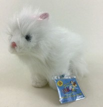 "Ganz Webkinz Persian Cat White 9"" Plush Stuffed Toy New with Tags and Co... - $10.84"