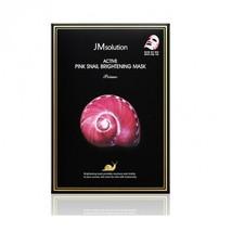 JM Solution Active Pink Snail Brightening Mask Nourishing Mask (Pink Snail