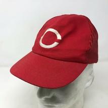VTG Twins Enterprises Cincinnati Red Mesh Snapback Hat Size XS C Basebal... - $34.64