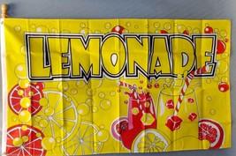 Lemonade 3X5' Flag Banner New Lemonade Stand Concession Flag - $9.85
