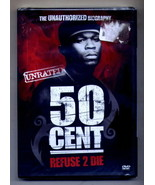 50 Cent Refuse to Die DVD NEW - $5.95