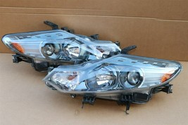 09-14 Nissan Murano Halogen Headlight Head lights Lamps Set L&R MINT