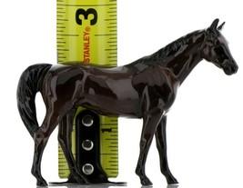Hagen Renaker Miniature Horse Thoroughbred Race Citation Ceramic Figurine Boxed image 2