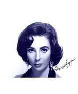 ELIZABETH TAYLOR  Authentic Original AUTOGRAPHED SIGNED PHOTO w/ COA 32004 - $165.00