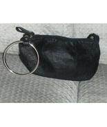 Victoria's Secret Black Bangle Wristlet Clutch Bag Purse Handbag - $12.99