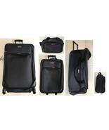 * NEW * Tag Springfield III 5 Piece Navy Lightweight Spinner Luggage Set - $88.81