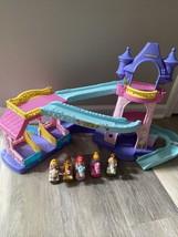 Little People Klip Klop Castle Disney Princess Stable  Fisher Price 5 Horse Lot - $36.00
