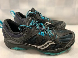 SAUCONY Adapt Train Running Women's Shoe Size 7 Black Blue 15148-1 - $16.82