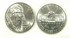 2017 P Jefferson Nickel  ~ Uncirculated PROOF Coin - $3.95