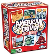 American Trivia - Family Edition [Outset Media New] Family Fun Board Game - $37.98