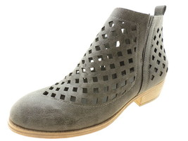 Journee Collection Women's Kat Bootie, Grey, Size 8.5 B(M) US - $34.64