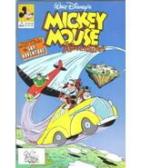 Walt Disney's Mickey Mouse Adventures Comic Book #10 Disney 1991 VERY FINE+ - $2.50