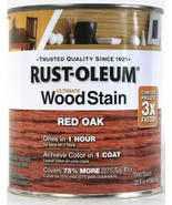 1 Can Rust-Oleum 32 Oz Ultimate Wood Stain One Coat 205673 Red Oak Dry I... - $20.99