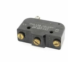 HONEYWELL MICRO SWITCH BZ-RW922-A2 ROLLER LEVER LIMIT SWITCH, 10A, 125/250/480V image 2