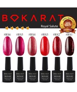 Gel Nail Polish Royal Salute Colors Bokarat 7.3 ml Soak Off UV LED High ... - $3.82