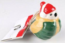 2 Target Wondershop Toymaker Hand Painted Ceramic Bird Ornaments 2018 NWT image 4