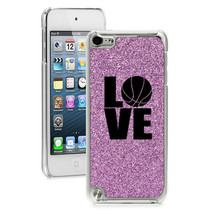 For Apple iPod Touch 4th 5th 6th Glitter Bling Hard Case Cover LOVE Bask... - $14.99