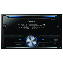 Pioneer Double-din In-dash Cd Receiver With Bluetooth PIOFHS500BT - $145.47
