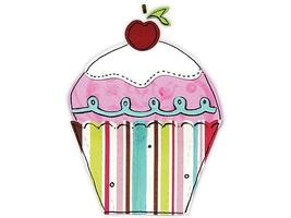 Sizzix Sizzlits 3 Dies Cupcake Set #656099 image 2