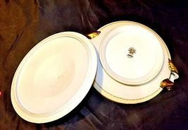 Noritake China Nana Rosa Pattern # 682 Tureen Serving AB 336-G Vintage 2 Piece image 3