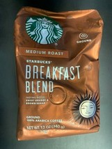 Starbucks Breakfast Blend Medium Roast Ground Coffee 100% Arabica 12oz BB 2/21 - $12.19