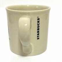 2013 Starbucks Green Mermaid Mug Off White Cream 14oz - $28.00