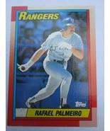 Rafael Palmeiro 1990 Topps Card #755 Rangers Cubs Free Shipping - $1.29