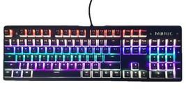 Micronics Manic X60 Mechanical Gaming Keyboard English Korean LED (Blue Switch)