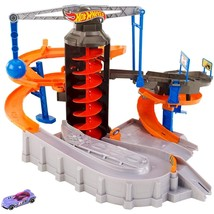 Hot Wheels Mattel Construction Zone Chaos Track Set - $127.49