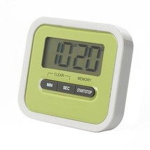 Digital Kitchen Timer Count Down Up Magnetic   green - $11.39