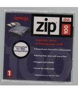 Iomega Zip 100 Disk - IBM Compatible - 742709100208. - $1.27