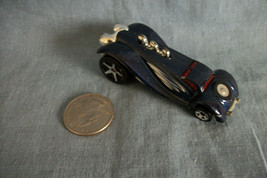 Hot Wheels 2003 Mattel Grandy Lusion Metallic Blue Car Made in Malaysia - $1.19