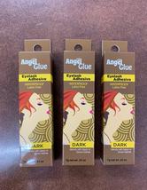 Angel glue eyelash adhesive water proof latex Free Dark color (pack of 3) - $9.99