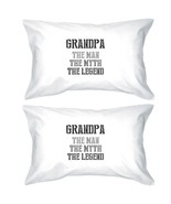 Legend Grandpa Pillowcases Standard Size Pillow Covers Family Gift - $30.99