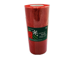 Hobby Lobby Tulle, Red, 25 Yards #1160498