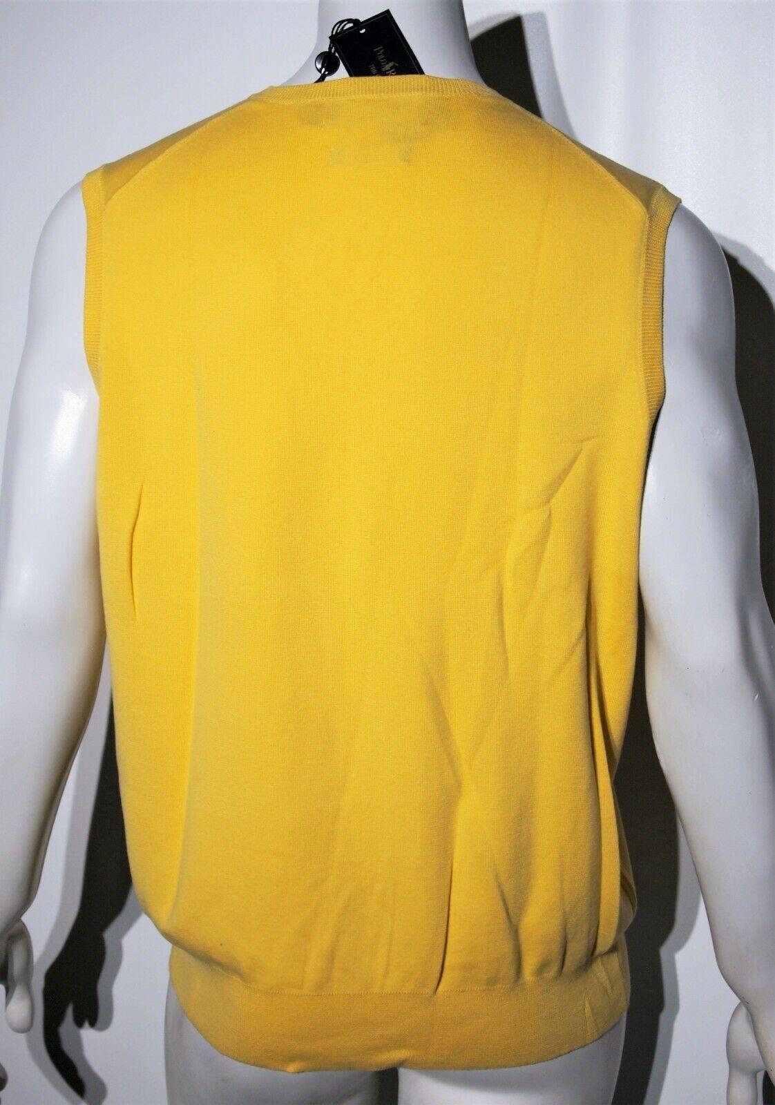 Polo Ralph Lauren men's pima cotton sweater vest size xl  slim fit image 4
