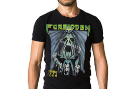 Forbidden Twisted Into Form 1990 Album Cover T-Shirt - $27.55