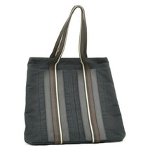 HERMES Canvas Tote Bag Navy Auth 8733 **Lack of Tag - $140.00