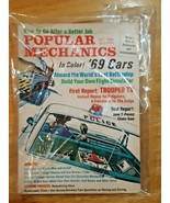 Popular Mechanics Magazine October 1968 The 1969 Cars Comparison Issue - $13.85