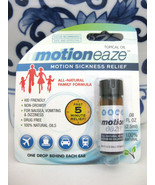 MOTIONEAZE Motion Air Sea Sickness Topical 5 Minute Relief Natural Oil - $10.88