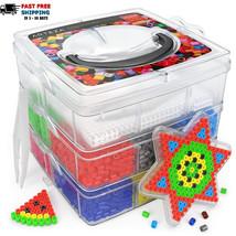 Fuse Beads 10,000 pieces Set 12 Colors Perler beads kids craft supplies ... - $26.00