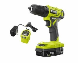 18-Volt One+ Cordless 3/8 In. Drill/Driver Kit With 1.5 Ah Battery And C... - $76.89