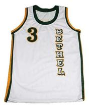 Allen Iverson Bethel High School Basketball Jersey Sewn White Any Size image 1