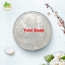 5 pcs Handmade Natural Yoni Vaginal Care Soap Skin Moist Crystal Soap Re... - $53.84
